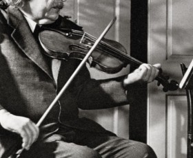 Einstein on Violin