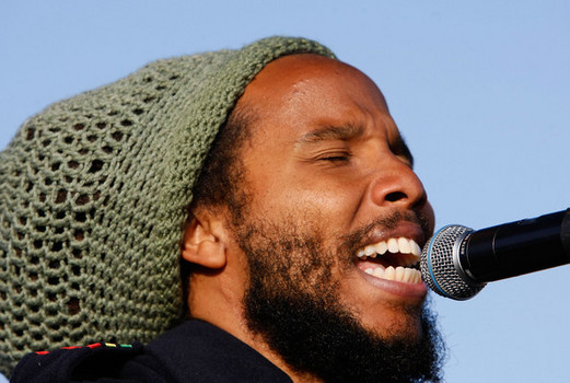 Ziggy Marley Singing