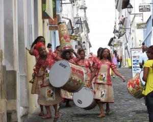 Bahia Women Drumming