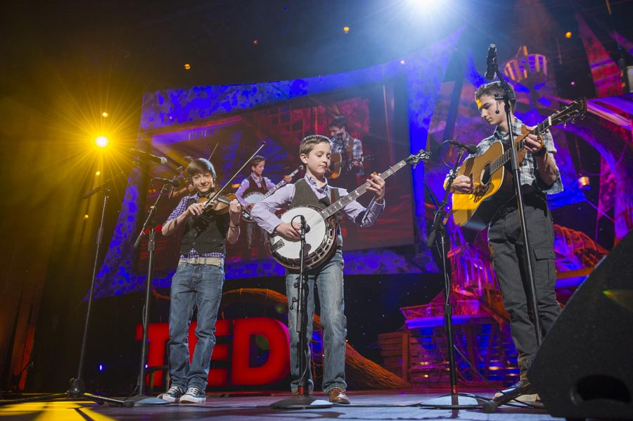 TED 2013: Sleepy Man Banjo Boys