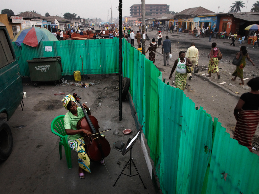Kinshasa Woman on Cello